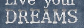Live Your Dreams Blackboard